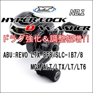 HYPER LOCK D WASHER #1