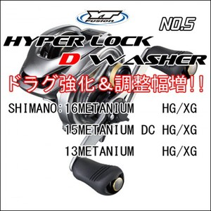 HYPER LOCK D WASHER #5