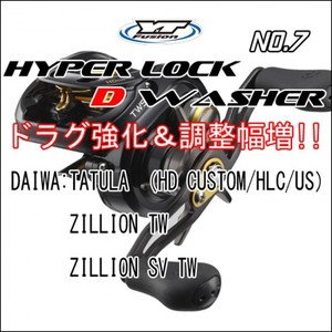 HYPER LOCK D WASHER #7