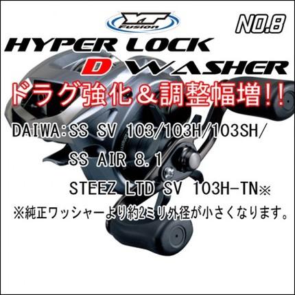 HYPER LOCK D WASHER #8