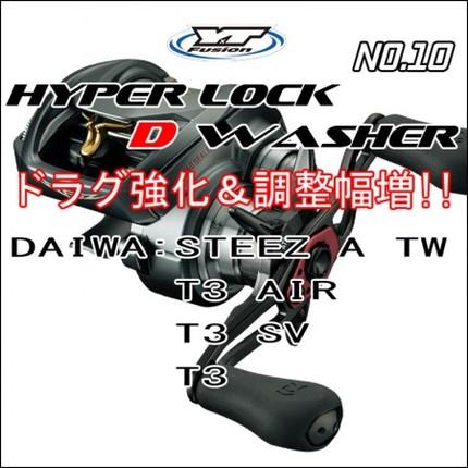 HYPER LOCK D WASHER #10