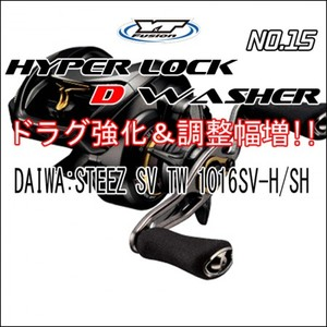 HYPER LOCK D WASHER #15