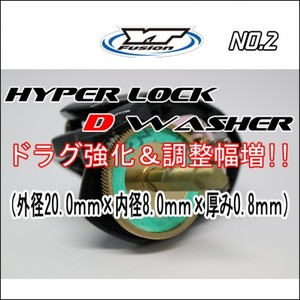 HYPER LOCK D WASHER 単品No,2