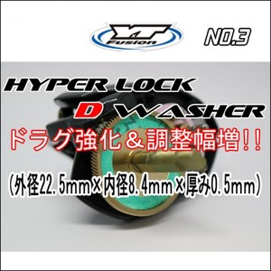 HYPER LOCK D WASHER 単品No,3