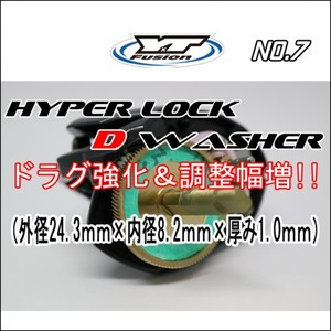 HYPER LOCK D WASHER 単品No,7