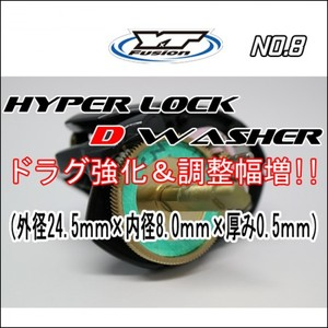 HYPER LOCK D WASHER 単品No,8