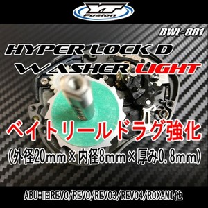 HYPER LOCK D WASHER LIGHT 1