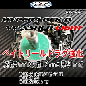 HYPER LOCK D WASHER LIGHT 2